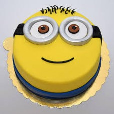 Happy Minion Cake ( 1 KG )