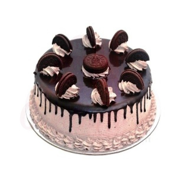 Chocolate Oreo Crown Cake