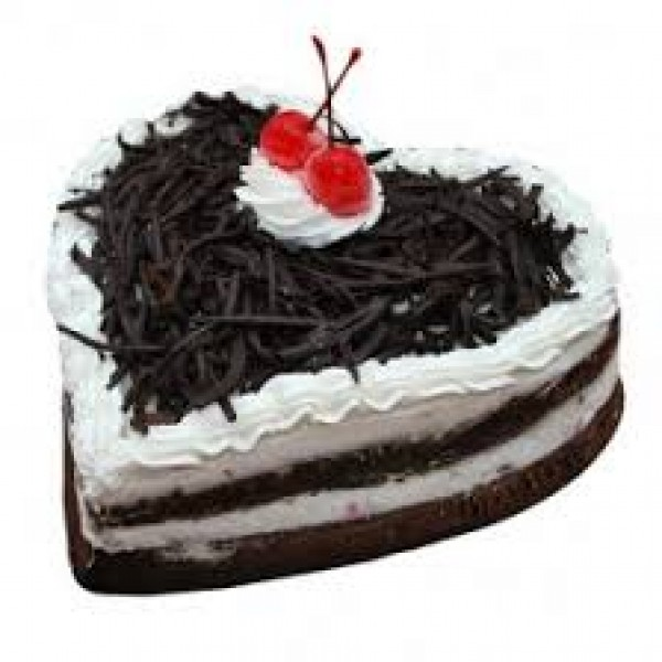 Choco Forest Heart Cake