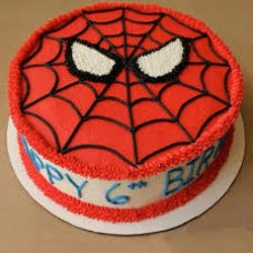 Spiderman Round Cake