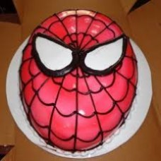 Spiderman Oval Cake ( 1 KG )