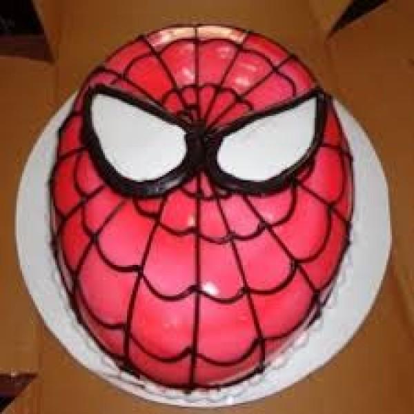 Spiderman Oval Cake ( 1 KG )