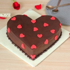 Beloved Heart Chocolate Cake