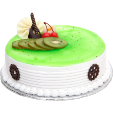 Kiwi Fruit Spread Cake