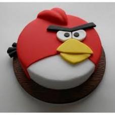 Angry Bird Fondant Cake ( 1 KG )