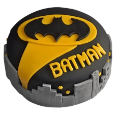 Batman City Fondant Cake  (1 KG)