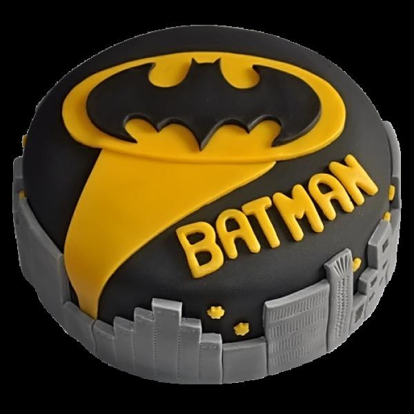 Batman City Fondant Cake  (1 KG)
