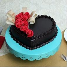 Heart & Roses Choco Truffle ( 1 KG )