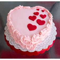 Love & Rose Strawberry Cake