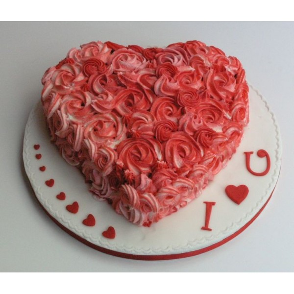 Season of Love Rose Cake