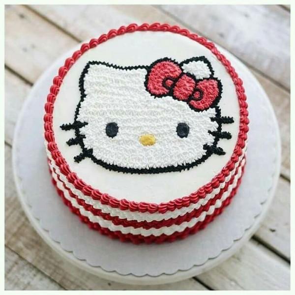 Red Velvet Kitty Cake ( 1 KG )