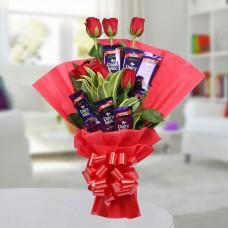 Choco Rosy Bouquet