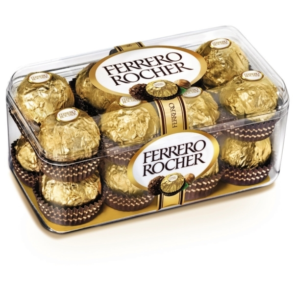 16 Pcs. Ferrero Rocher Chocolate Pack